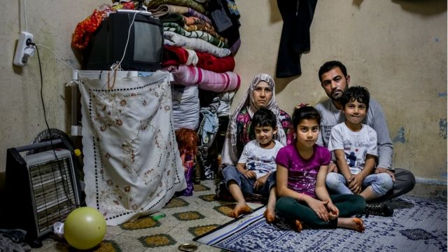 Suriyeli bir aile