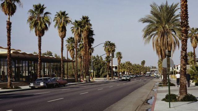 Палм-Спрингс, Лос-Анджелес, 1965