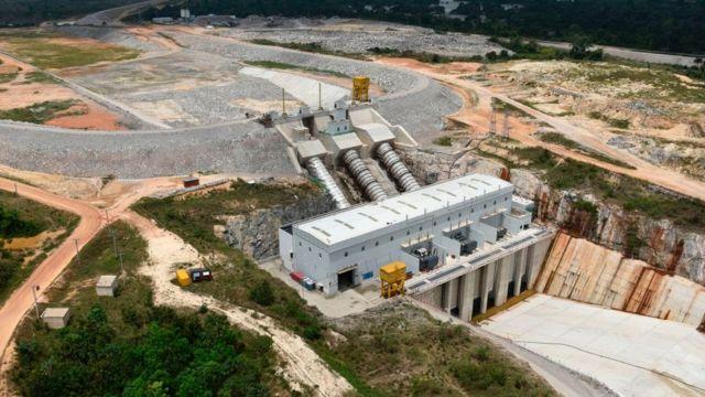 Le barrage de Soubré est d'une d'une puissance de 275 Mw augmente 10% dans la production électrique du pays