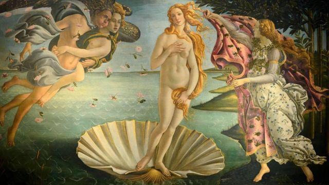 La Naissance de Vénus (1482-5)