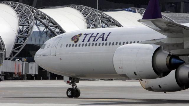 รูปเครื่องบินการบินไทย