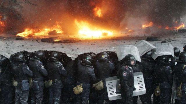 Правоохоронці на Майдані