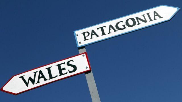 Wales/Patagonia sign