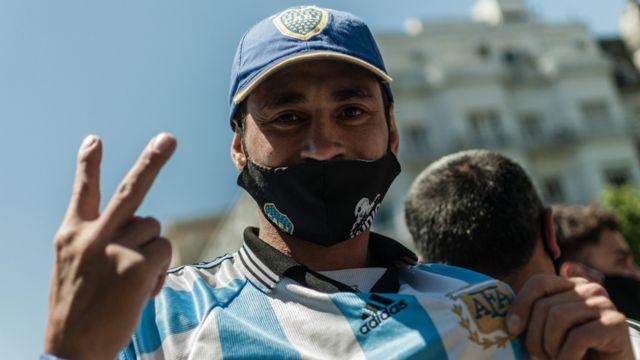Abanico de Maradona