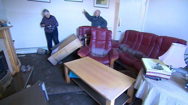 Corbridge B&B wrecked by floods