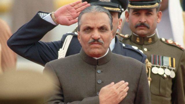 Zia ul-Haq, presidente do Paquistão entre 1978 e 1988