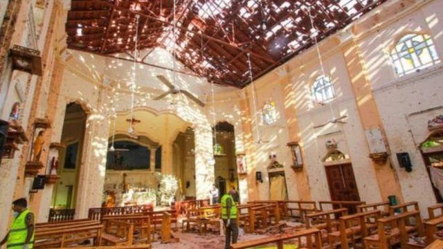 श्रीलंका में हमला