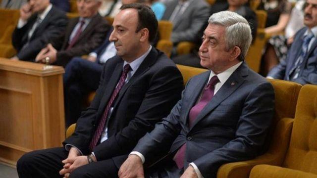Hrayr Tovmasyan və Serj Sarkisyanın
