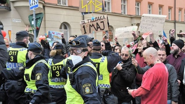 تجمع در استکهلم