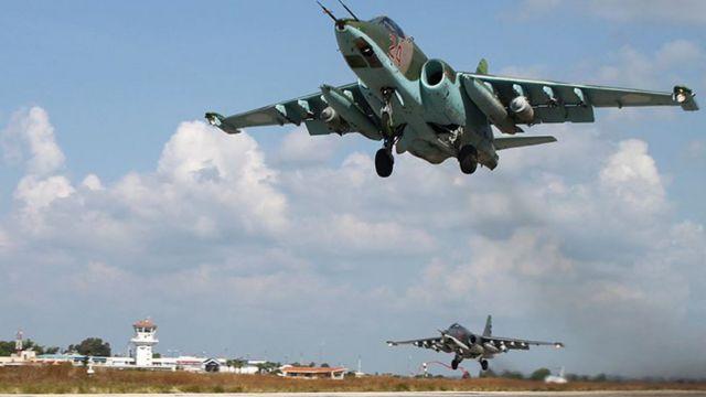 مقاتلات روسية في سوريا