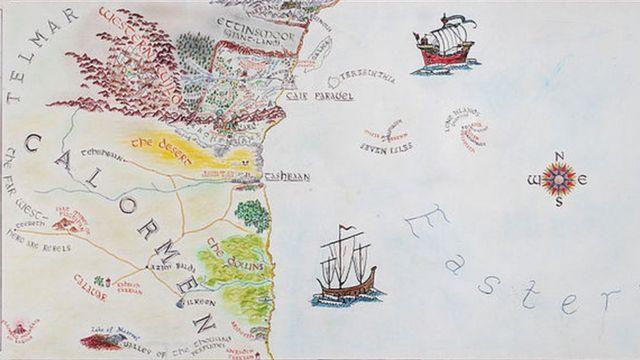 Карта Нарнии