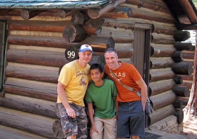 Pete, Kevin y Danny en 2011.