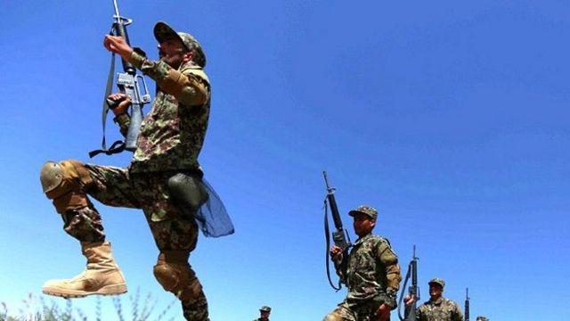 Soldados em ação