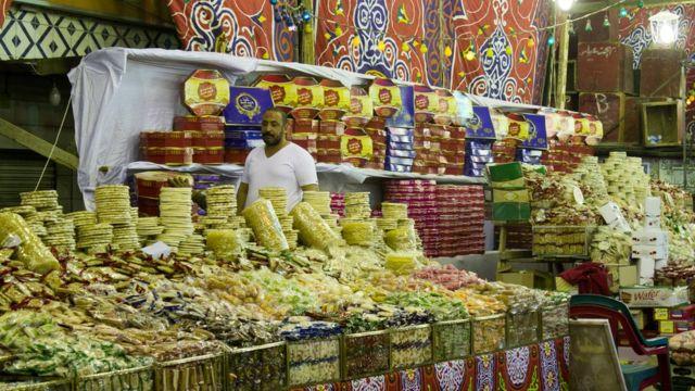 حلوى المولد النبوي في مصر.