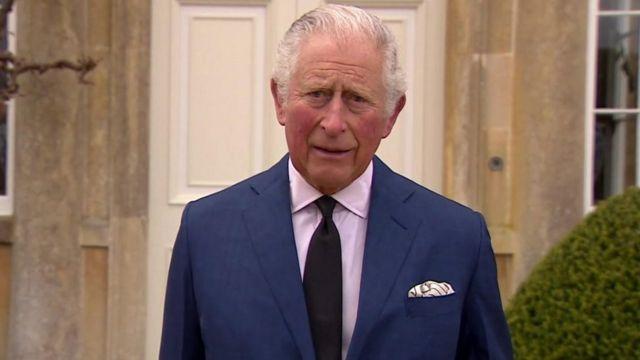 """O príncipe Charles disse que ele e sua família estavam """"profundamente gratos"""" pelas homenagens."""