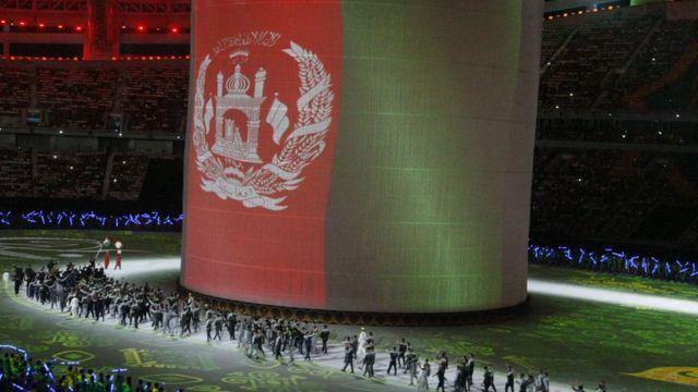 کاروان ورزشی افغانستان