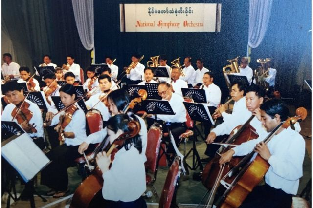 Beethoven, Bach and Bond to win over Myanmar's generals