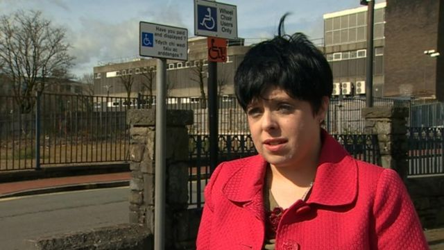 Disabled woman chased for using her blue badge