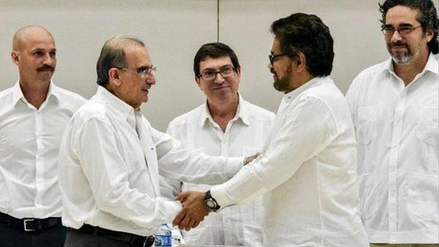 توافق مذاکرات کلمبیا