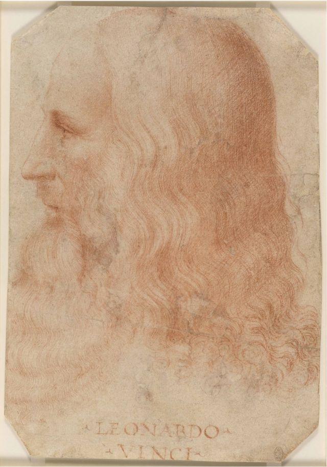 Leonardo da Vinci portresini Francesco Melzi yapmıştı.