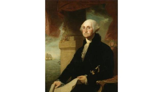 乔治华盛顿油画肖像