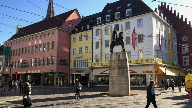 Centro histórico de Friburgo