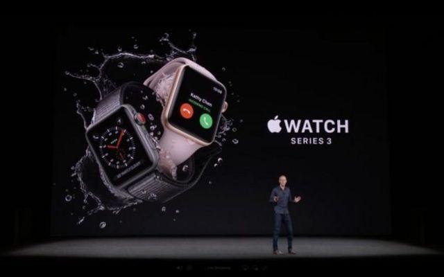 นาฬิการุ่นใหม่ มีเม็ดมะยมสีแดง เพื่อสื่อถึงความสามารถในการใช้งานระบบ 4 จี
