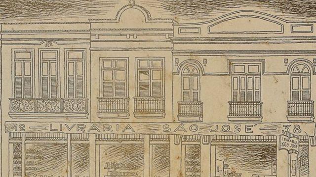 Ilustração da Livraria São José