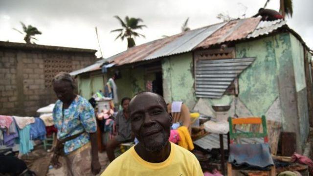 Haití tras el huracán Matthew.