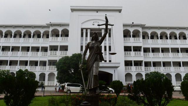 ঢাকার হাই কোর্ট ভবন, ২০১৮ সালে তোলা ছবি।