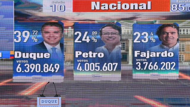 Kolombiya seçimler
