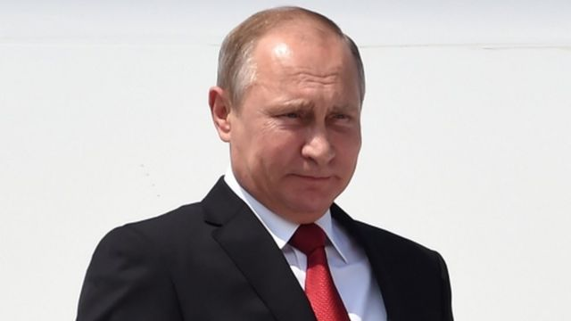 रूसी राष्ट्रपति व्लादीमिर पुतिन