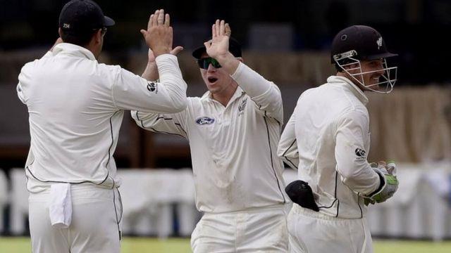 भारत और न्यूज़ीलैंड के बीच टेस्ट मैच