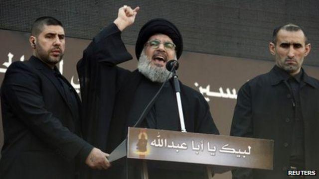 ظل الأمين العام للحزب حسن نصر الله يمثل الشخصية المركزية في قيادته
