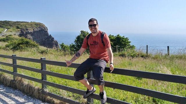 Márcio Henrique Claudino no Reino Unido