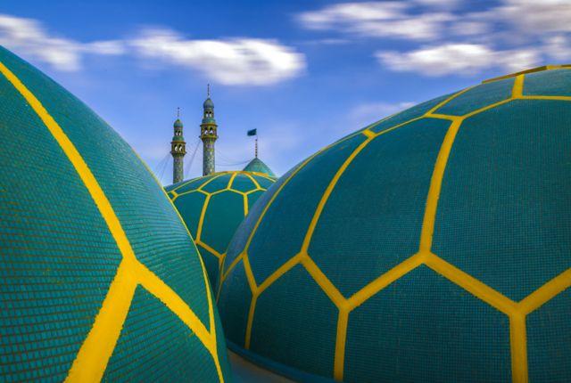 伊朗贾姆卡兰清真寺