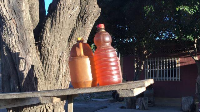 Pimpinas con combustible venezolano