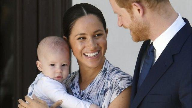 Archie es el primer hijo de Meghan y Harry.