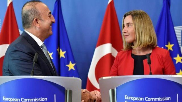 """AB Dışişleri ve Güvenlik Politikaları Yüksek Temsilcisi Federica Mogherini, """"Ankara ile diyalog kanallarını açık tutmamız önemli"""" demişti."""