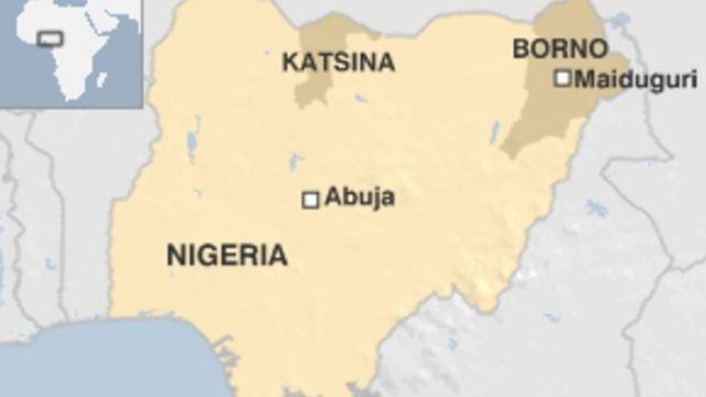 Katsina map
