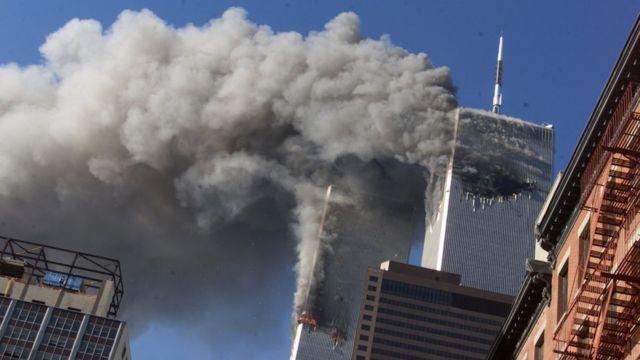 Imagen de los ataques del 11 de septiembre de 2001.