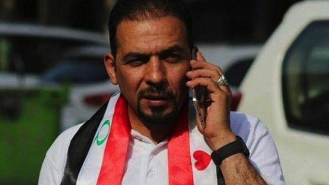 الناشط العراقي إيهاب الوزني