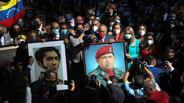 Partido oficialista de Venezuela propone a Jorge Rodríguez como presidente del parlamento