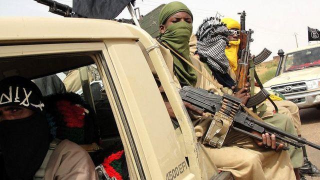 Yihadistas en el norte de Malí.