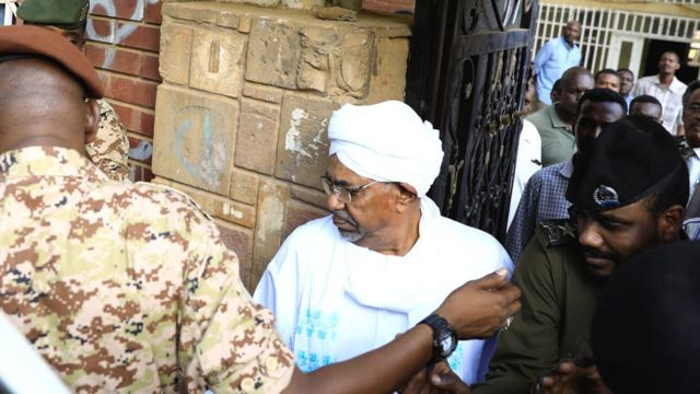 Ousted Sudan leader Bashir makes first appearance since coup