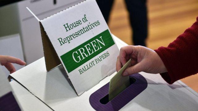 Голосование на выборах в Австралии
