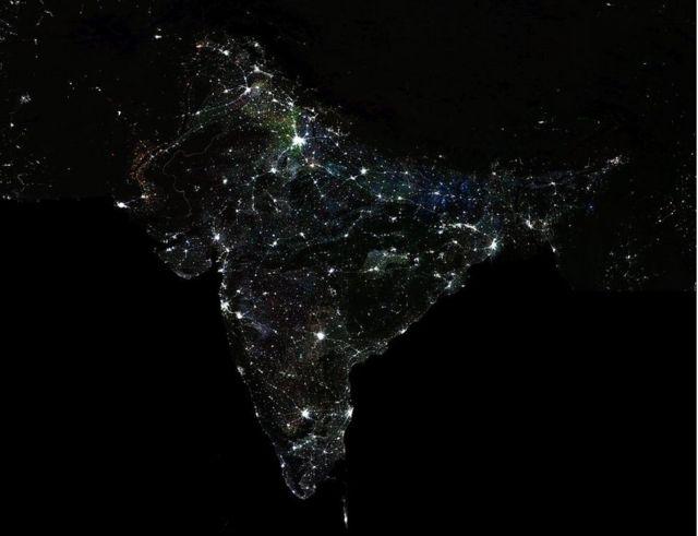 الهند ليلا