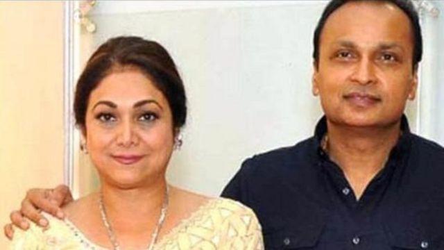 Anil Ambani da matarsa tsohuwar tauraruwar Bollywood Tina Munim