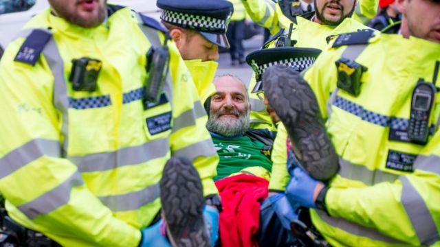 Climate protests: How do police control demonstrations?