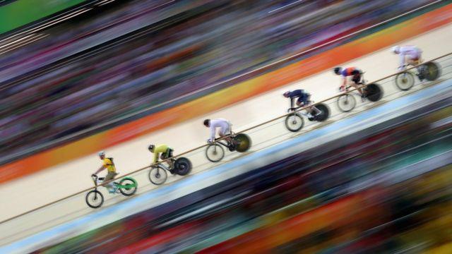 Competencia de keirin en Río